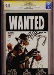 Wanted #5 CGC Comics Signature Series SS 9.8 Signed J.G. Jones Top Cow comic book